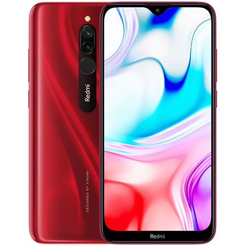 Смартфон Xiaomi Redmi 8 4/64Gb Global version (EU) 12 мес Ruby Red