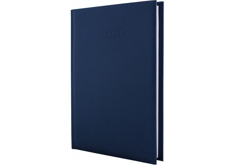 Ежедневник датированный 2020, CAPYS, темно-синий, А5