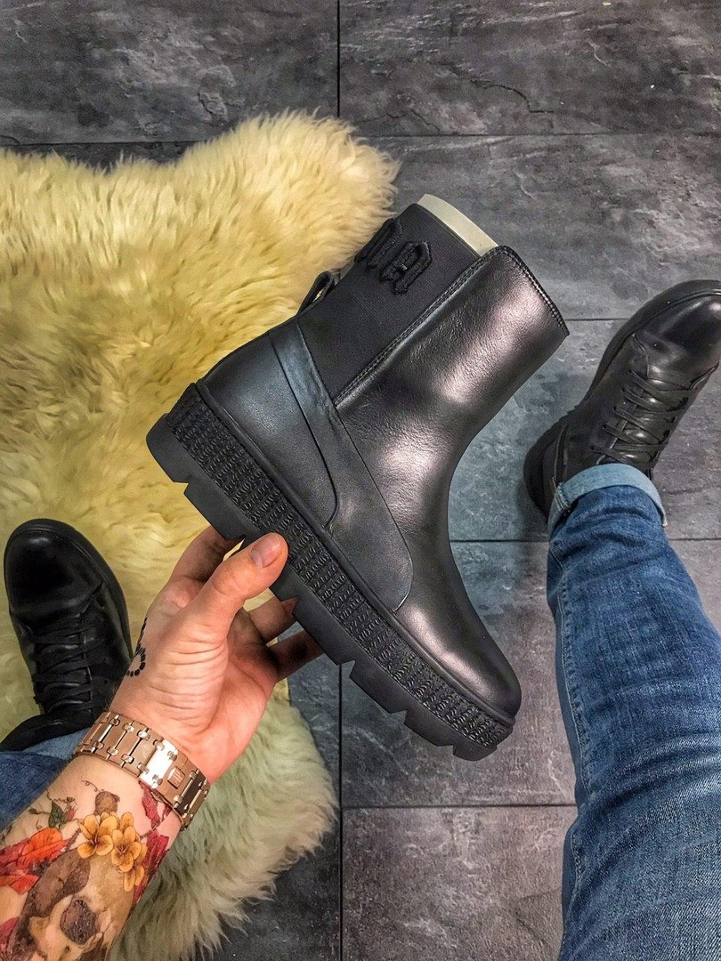 "Puma By Rihanna Chelsea Sneakers Boot ""BLACK"""