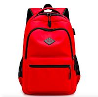 Рюкзак городской Kaila Aspen Sport с выходом для гаджетов Красный