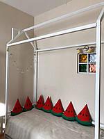Детская Кроватка Домик с горизонтальным бортиком LNK Company
