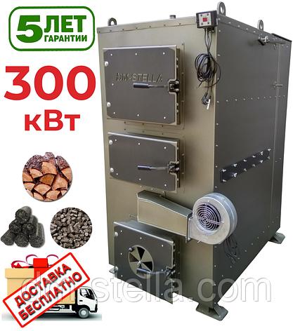 Твердотопливный пиролизный котел 300 кВт DM-STELLA, фото 2