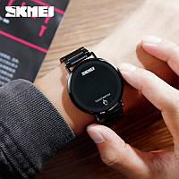Skmei 1550 light  черные мужские оригинальные часы, фото 1