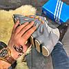 Мужские кроссовки в стиле Adidas Yeezy Boost 451 Blue ( в стиле адидас), фото 4