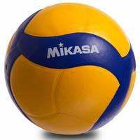М'яч волейбольний MIKASA Клеєний PU (V390W), фото 1