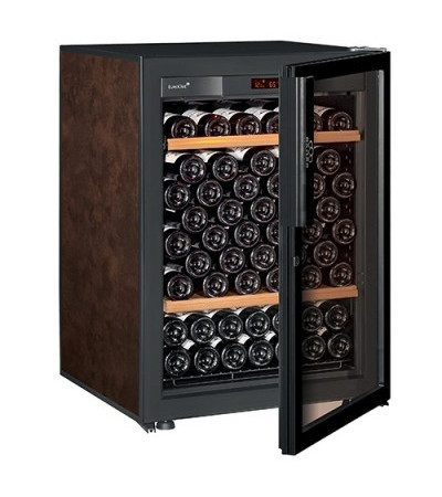 Винный шкаф EuroCave V-Pure-S Стеклянная дверь Full glass, цвет - буйвол, стандартная комплектация