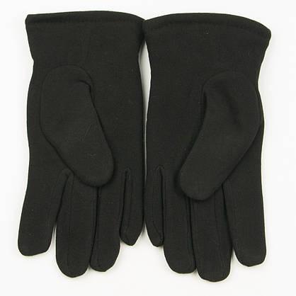 Оптом мужские зимние  трикотажные перчатки с искусственным мехом   № 18-1-29/3, фото 2