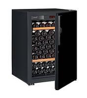 Винный шкаф EuroCave V-Pure-S Сплошная дверь Black Piano, цвет - черный, стандартная комплектация, фото 1