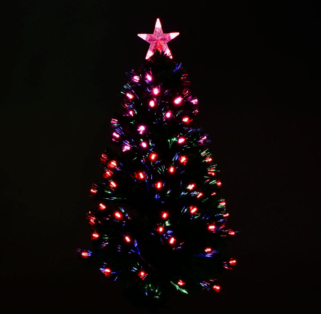 Искусственная ёлка светящаяся  90см, 80 веток С 29326