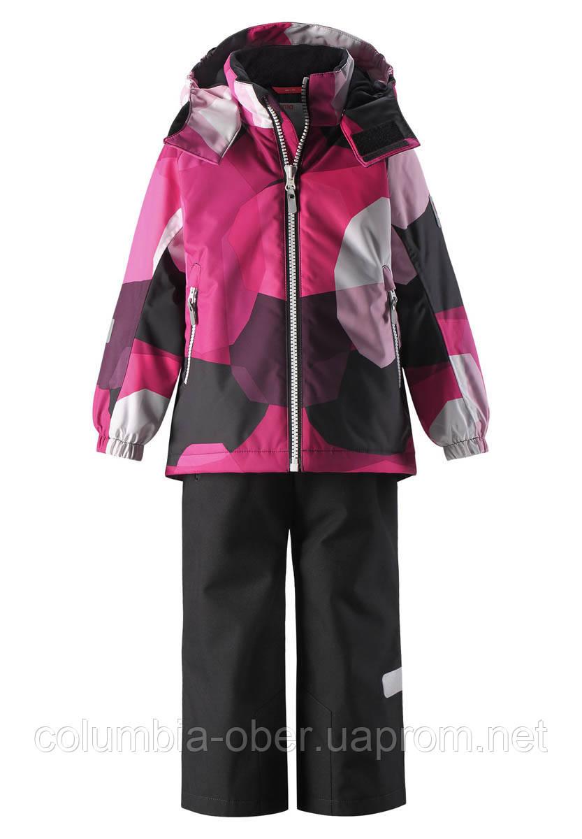 Зимний комплект для девочки Reimatec Hamara 523127-4656. Размеры 104 - 140.