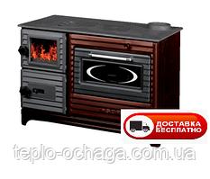 Отопительно варочная печь чугунная DUVAL – EK 5238 Surel