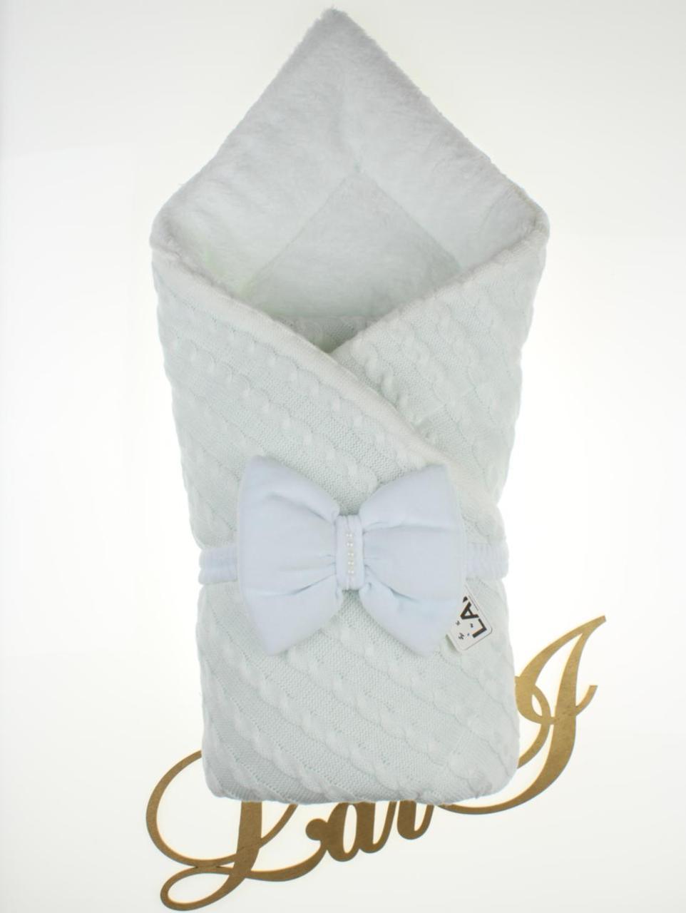 Зимний конверт-одеяло для новорожденных Дуэт 2 белый