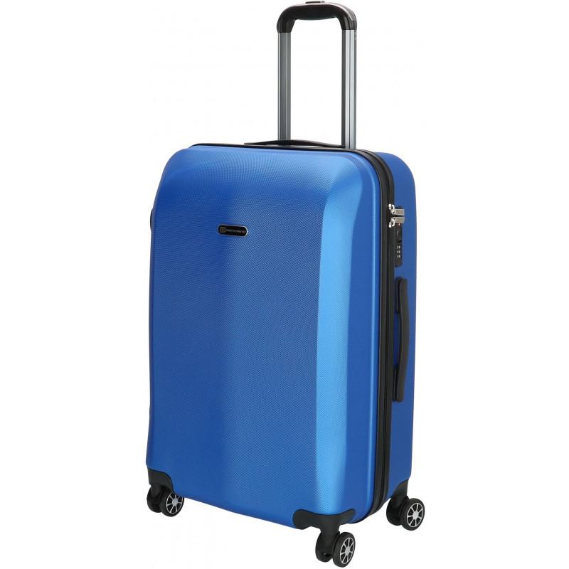 Чемодан Enrico Benetti ATLANTA/Steel Blue M Средний Eb74000 088-60