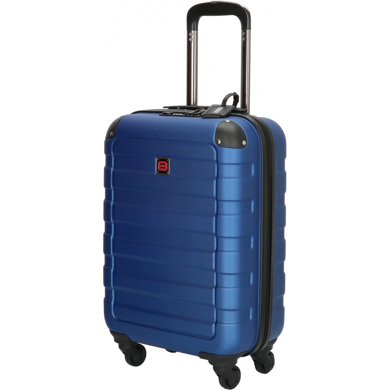 Чемодан Enrico Benetti LITTLE ROCK/Steel Blue S Маленький Eb39041 088-55