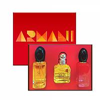Подарочный набор Giorgio Armani Si Passione 3x25 ml