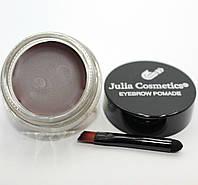 """Гелева підводка для брів """"Julia Cosmetics"""" Chocolate"""
