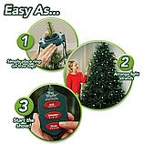 Гирлянда конусная на елку 48 led Christmas lights, фото 5