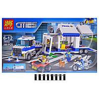 Конструктор Cities Мобильный командный центр 39052 (Аналог LEGO City 60139) 398 дет