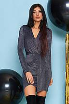 Женское праздничное платье из люрекса (Натали jd), фото 3
