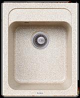 Гранитная мойка Platinum KORRADO 4050 матовая карамель, фото 1