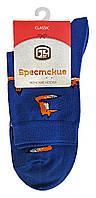 Носки женские хлопковые Брестские Classic 16С1102, р.25, рис.164, т.джинс Лисы