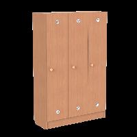 Шкафчики для детской раздевалки