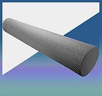 Массажный роллер для йоги (валик массажер) фоам ролер для самомасажа Fitness Roller PS-4075 Grey (90*15)