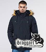 Braggart Youth | Парка зимняя 25770 темно-синяя