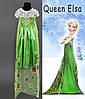 Карнавальный костюм для девочки королева Эльза Фроузен, р. 120 см. М