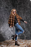 Кожушок з соболя з рукавом 3\4 sable jacket fur coat, фото 4
