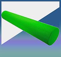 Массажный роллер для йоги (валик массажер) фоам ролер для самомасажа Fitness Roller PS-4075 Green (90*15)