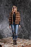 Кожушок з соболя з рукавом 3\4 sable jacket fur coat, фото 5