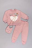Теплый костюм для девочек (100-130), фото 1