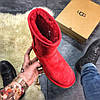 Женские Ugg Classic Leather Red., фото 2
