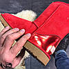 Женские Ugg Classic Leather Red., фото 6