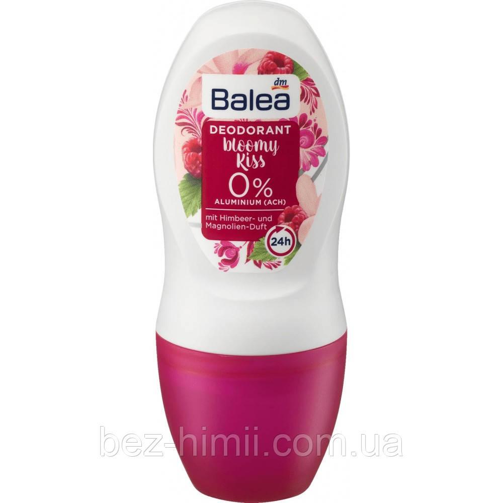 Шариковый дезодорант без алюминия c ароматом малины и магнолии, Balea. 50 мл.