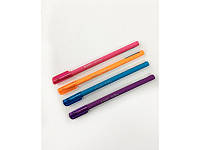"""Ручка шариковая синяя  цветным корпусом масляная (шариковая) Axent """"Mellow"""" АВ1064-02"""