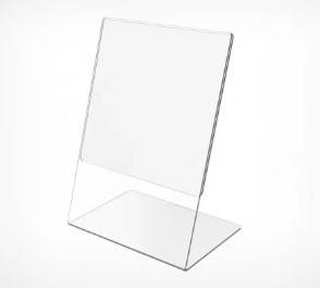 Ценникодержатель А4 формата L- образный вертикальный, фото 2