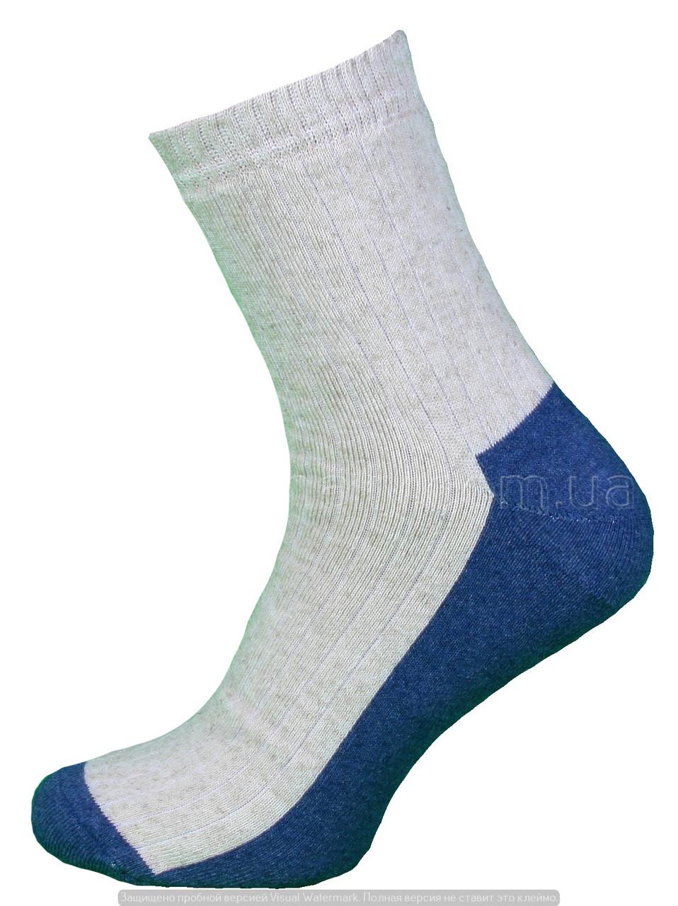Носки оптом мужские махровые из льна