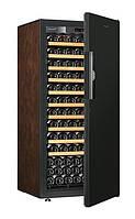 Винный шкаф EuroCave V-Pure-M Сплошная дверь Black Piano, цвет - буйвол, максимальная комплектация, фото 1