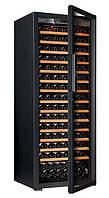 Винный шкаф EuroCave V-Pure-L Стеклянная дверь Full glass, цвет - черный, максимальная комплектация