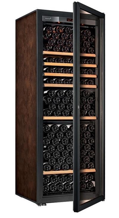 Винный шкаф EuroCave V-Pure-L Стеклянная дверь в раме, цвет - буйвол, стандартная комплектация