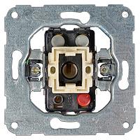 Механизм выключателя HAGER двухклавишного, 10А/250В