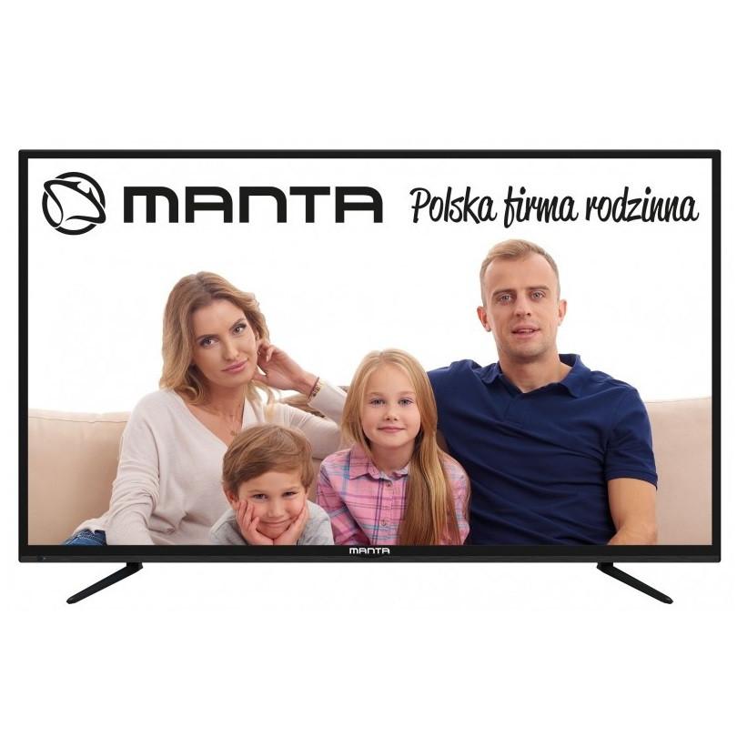 Телевизор Manta LED60LUA58L (PQV 400Гц, UltraHD 4K, Smart, Android TV 4.4, DVB-C/T2)