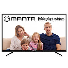 Телевизор Manta LED60LUA58L (PQV 400Гц, UltraHD 4K, Smart, Android TV 4.4, DVB-C/T2)