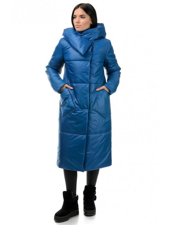 Зимний женский пуховик одеяло