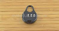 Навесной кодовый замок КД33 навесной (черный), фото 1