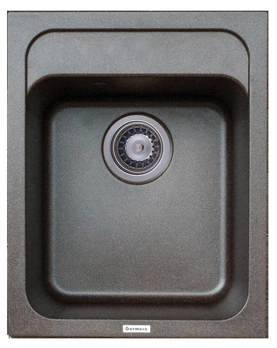Гранитная мойка Platinum KORRADO 4050 матовая шоколад