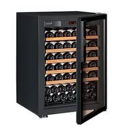 Винный шкаф EuroCave S-Pure-S Стеклянная дверь Full glass, цвет - черный, максимальная комплектация