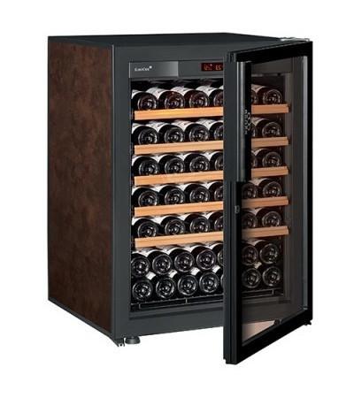 Винный шкаф EuroCave S-Pure-S  Стеклянная дверь Full glass, цвет - буйвол, максимальная комплектация